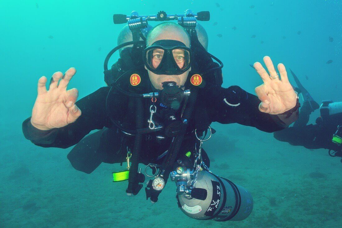 Diving record - Merak Menorca