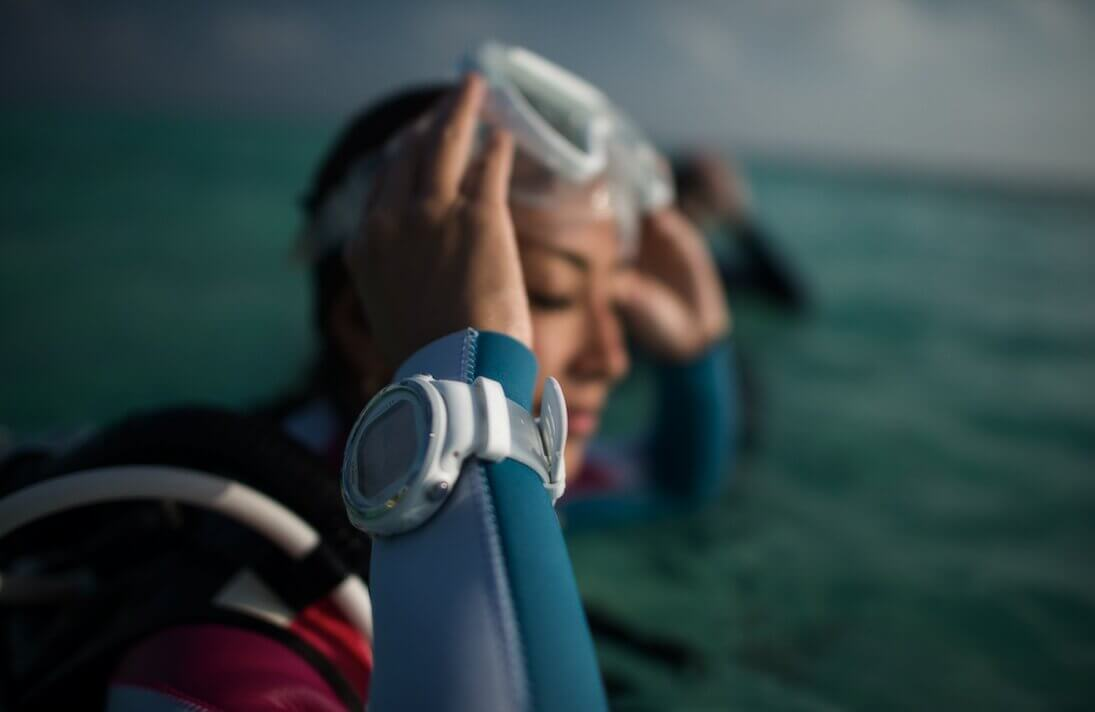Reloj subacuatico - Merak Menorca
