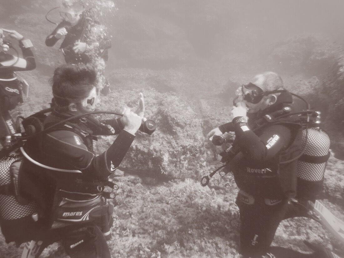 Seguridad buceo - Merak Menorca